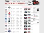 Ardomi automobiliai dalimis Audi, BMW, Volkswagen. www. autolauzynas. com. Automobilių dalių luš