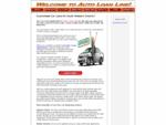 South Western Ontario - Auto Financing