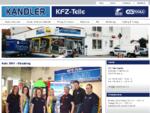 KFZ - Teile Kandler - Ihr Partner für günstige KFZ-Teile, Farben und Lacke - Straubing