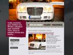 Auto, limuzína na svadbu Poprad a okolie, odvoz na letiská