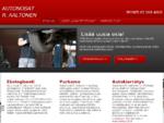 Autopurkamo, autokierrätys, autovaraosat - Autonosat R. Aaltonen
