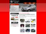AutoŠport Maličký | Strešné nosiče, boxy, koberce, autopoťahy, autokozmetika, doplnky