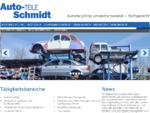 Startseite - Auto-Teile Schmidt - Autorecycling - gebrauchte und neue Kfz-Ersatzteile - Containerdie