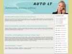 Automobilių ir krovinių pervežimas