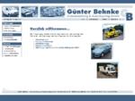 Autoverwertung Autorecycling Behnke GmbH, Fahrzeughandel und Ersatzteile