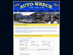 Auto-Wreck Sydney NSW Auto Wreckers, wrecking most makes of cars, vans and utes since 1971 includi