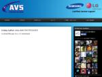 AVS ELECTRONICS | SERVICE SAMSUNG - LG