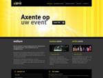 Axente op uw event - Organisatie van evenementen en bedrijfsfeesten - Grimbergen