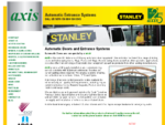 Automatic Doors - Sliding Telescoping Doors from Axis Automatic Entrance Systems