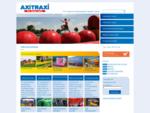 Axitraxi - Verhuur verkoop van attracties o. a. springkussens, luchtkussens, stormbanen, rodeos
