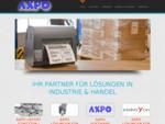 AXPO - Ihr Partner für Lösungen in Industrie Handel - Etiketten, Rollen, Strom