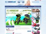 Produkcja wózków dziecięcych oraz śpiworków do wózków dla dzieci.