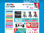 Baby Products, Clothes, Prams, Accessories - Your Online Baby Store - Babytrain. com. au