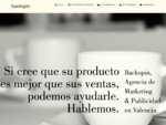 Agencia de Publicidad y Marketing en Valencia · Backspin