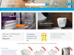 Badkamers sanitair online kopen in de webshop | BadkamerXXL. be