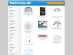 Die besten Seiten zum Thema Badlampe im Internet