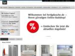 www. fertigdusche. de - Ihr Shop fuuml;r Fertigduschen, Duschen und Badewannen