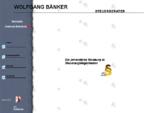 WOLFGANG BÄNKER