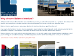 Balance Interiors | Office Furniture| Educational, Hospitality and Corporate Furniture.