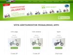 Elektrijalgrataste müük ja rent