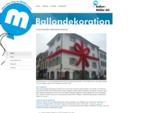 Ballondekoration - Ballon Müller AG Tauchen Sie ein, in die leuchtend bunte Welt der Ballondekorat