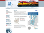 AS Baltic Rail is an operating and railway forwarding company acting in both European (1435 mm) and