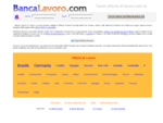 Banca Lavoro | Offerte di Lavoro su BancaLavoro. com