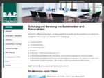 B. A. P. -Institut - Seminare und Beratung für Betriebsräte - www. bap-institut. de