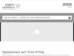 BARON LEINFELS, Agentur für Kommunikation LISTEN CREATE CARE