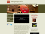 Welcome to Maitreya Yoga Studio! Located in Manotick, Ontario, we offer a wide variety of Yoga,