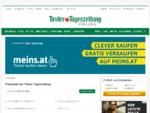Flohmarkt | Tiroler Tageszeitung Online