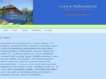 Ubytovanie Podhájska - rodina Ba357;aneková