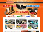 Batteries Montgallet - Magasin de batteries, chargeurs, piles et accessoires N°1 à Paris