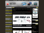 Varta, Exide, Banner, Yuasa, CSB, Optima, CTEK a ďalšie - Battery Import SK