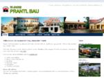 Startseite: Baumeister Ing. Alexander PRANTL Laa/Thaya - Ihr Baumeister, Zimmermeister für Hoch- und