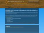 Pickering General Contractor | Pickering Building Services | General Contractor Serving The Picker