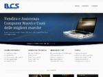 BCS sas negozio di Informatica da oltre 20 anni, realizziamo Siti Web.
