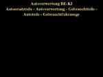 autoverwertung-be-ki. de - Autoverwertung - Minden - Lübbecke, Autoverwertung - Ostwestfalen, Auto