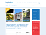 Beaches Toronto, Ontario - A Beach Beaches Restaurants, Businesses, Real Estate, Events News