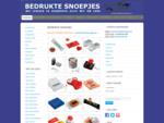 Bedrukte Snoepjes 2015 - Logosnoepjes, lollypops, pepermuntjes