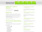 Start - BeeSchool Lernplattform - Sprachstudio private Sprachschule Fahrschulausbildung und Nachschu
