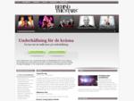 Artistförmedling - Musikunderhållning showgrupp för företagsfest | Behind the Stars