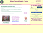 Belper Natural Health Centre for Complementary Therapy in Derbyshire