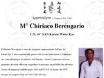 Maestro Chiriaco Berengario 8° DAN Karate Wado Ryu