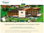 Berghotel Tirol Hotel Sexten, Hotel Sesto, Unterkunft Hochpustertal Urlaub