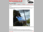 Crane Hire, Contract Lifting And Transport - Berry Cranes Ltd