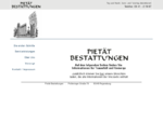 Regensburg Bestattungen Pietauml;t Bestattungen Regensburg - Bestattungen Regensburg Trauerfall Reg