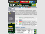 BETTING INFO - Sports Betting Guide