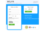 BFJ.FR is available for purchase. Get in touch to discuss the possibilities! - DomainStock.com