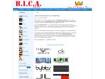 B. I. C. A. | Biancheria per la casa | Intimo | Mare | Letti | Materassi | Reti | Guanciali
